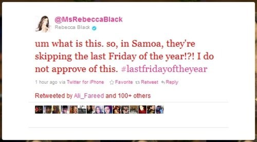 International Date Line Rebecca Black samoa - 5624915968