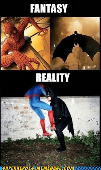batman reality Spider-Man Super-Lols - 5625294336