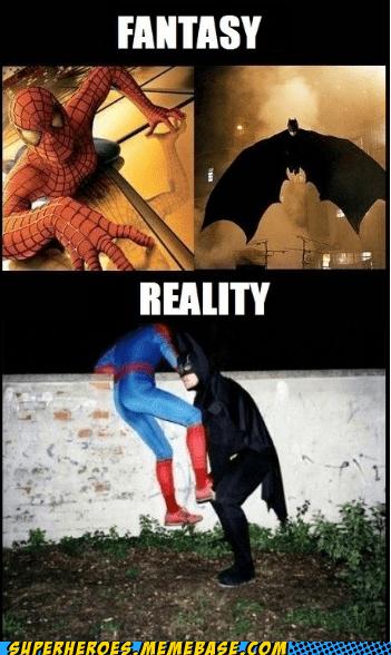 batman reality Spider-Man Super-Lols - 5625294336