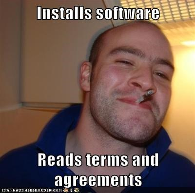 agreement Good Guy Greg software terms - 5625404928