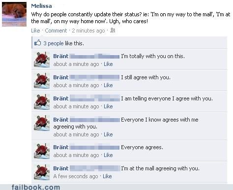 trolling statuses funny pointless status - 5625452032