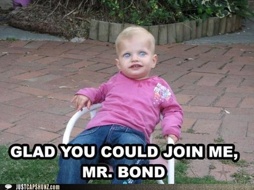 creepy james bond kid toddler villain wtf - 5625573120