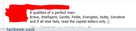 The perfect man has..big pens?