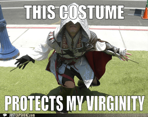 assains creed costume fanboy virgin virginity - 5625708544