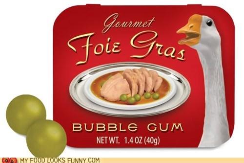 flavored,foie gras,goose liver,gumballs,novelty