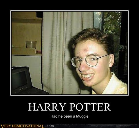 Harry Potter hilarious muggle what if - 5625915392