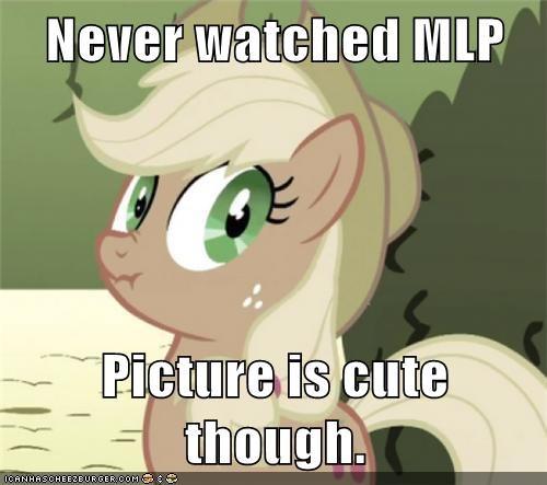 applejack i lied MLP non-bronies ponies - 5626074880