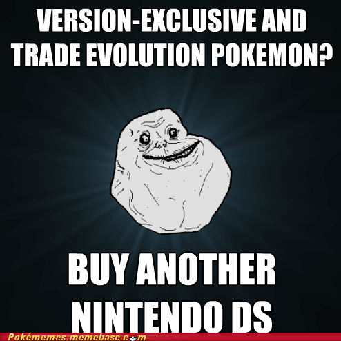 catch em all forever alone link cable Memes nintendo ds - 5626189568