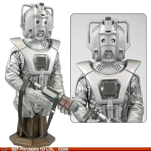 art cybermen doctor who episode statue - 5626306560