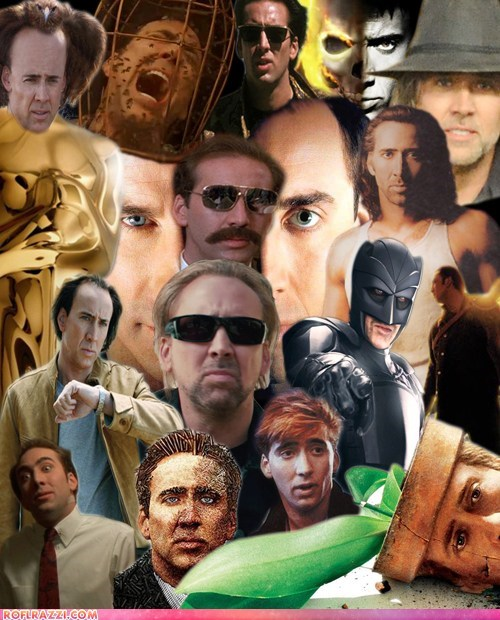 actor,celeb,collage,funny,nicolas cage