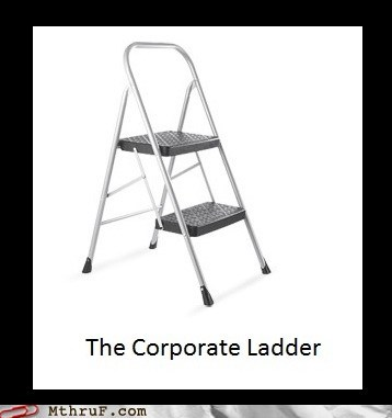 aim high corporate ladder get nowhere Hall of Fame