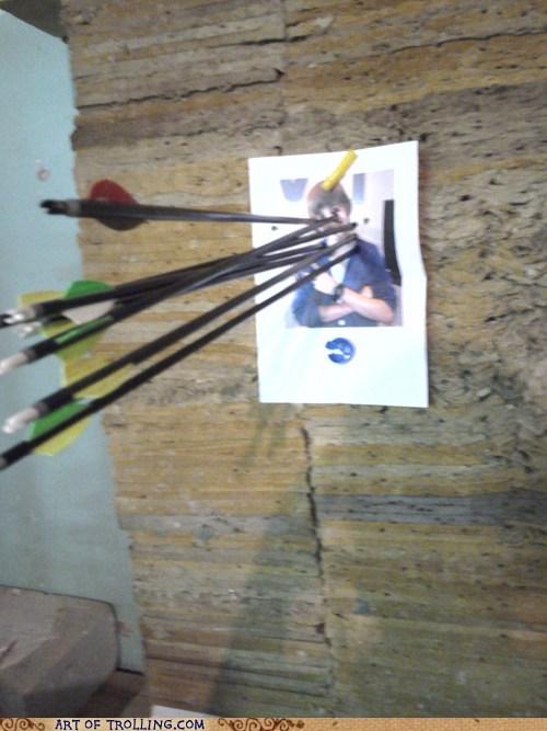 archery IRL justin bieber target practice - 5626743808