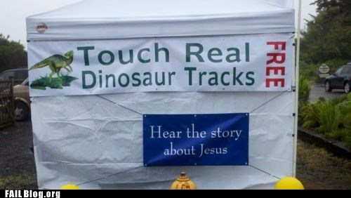dinosaurs,information,religion,science,youre-not-fooling-anyone