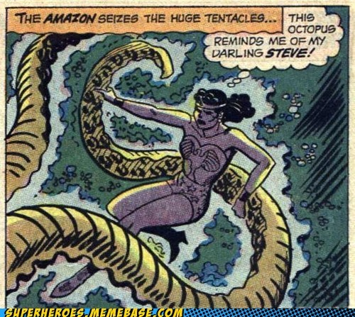 octopus steve Straight off the Page wonder woman wtf - 5626998016