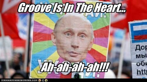 club music deee-lite groove is in the heart Pundit Kitchen russia russian Vladimir Putin