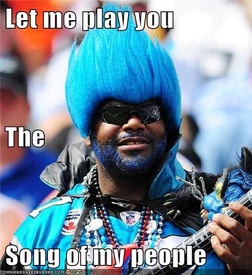 let me play you the song of my people random guy sports fan the song of my people Up Next in Sports - 5627241984