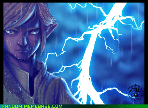 Fan Art legend of zelda link Skyward Sword video games