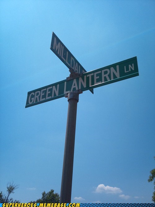 Green lantern lane Random Heroics street - 5627840000
