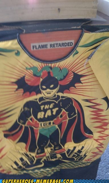 batman costume flame Random Heroics retarded - 5627854592