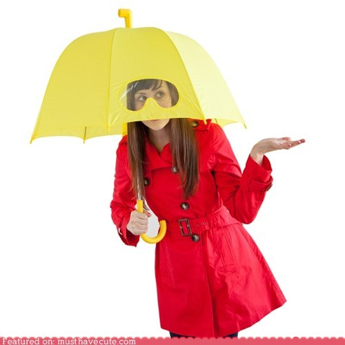 accessories,best of the week,clear,goggles,rain,umbrella,view