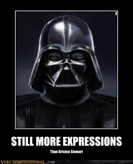 darth vader expressions hilarious kristen stewart twilight - 5629090816