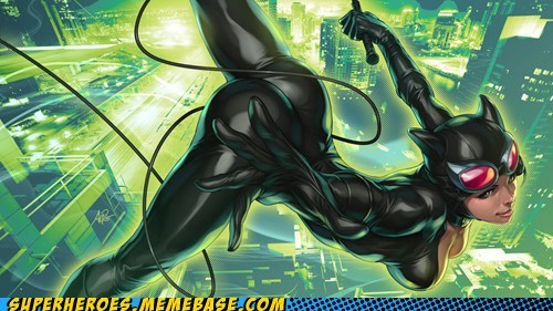 Awesome Art cat woman selina kyle Sexy Ladies - 5629897216