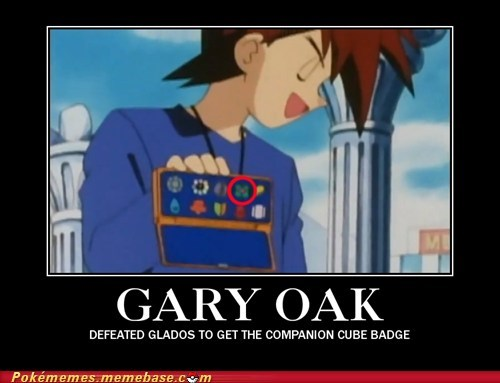 anime,best of week,companion cube,gary oak,Pokémemes,Portal,tv-movies,video games