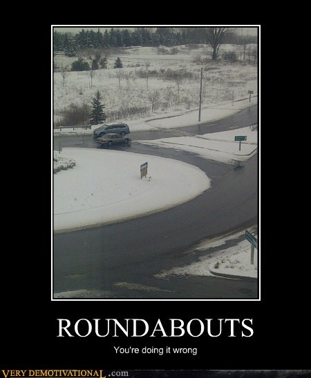 car driving idiots roundabout - 5630029824