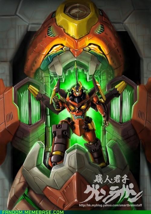 anime Fan Art Gurren Lagann TV - 5630162688