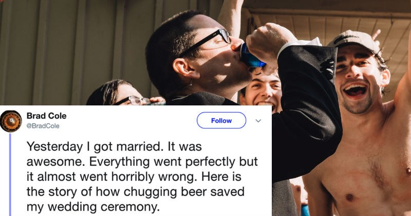 drinking twitter marriage funny wedding photos awesome wedding ridiculous funny win - 5630725