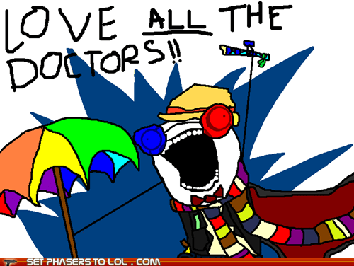 all the things,best of the week,bowties,cool,doctor who,scarf,sonic screwdriver,the doctor,umbrella,x all the y