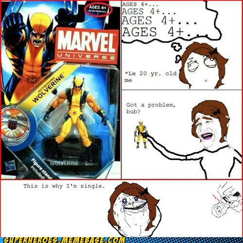 awesome Super-Lols toys wolverine - 5631390720