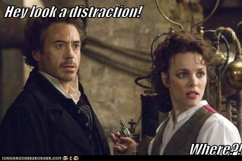 distraction irene adler rachel mcadams robert downey jr sherlock-movie sherlock holmes where