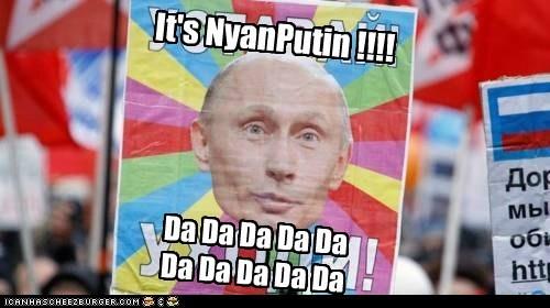 Memes nyancat political pictures Vladimir Putin - 5633937408