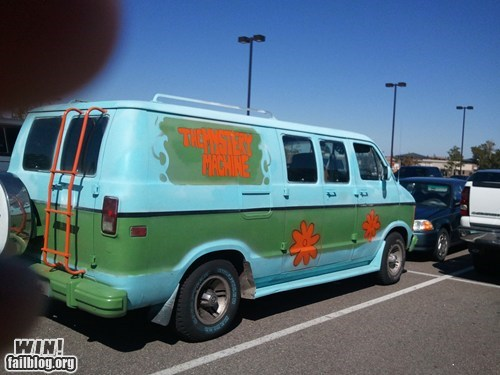 cars cartoons mystery machine nerdgasm pop culture scooby doo van - 5634408704