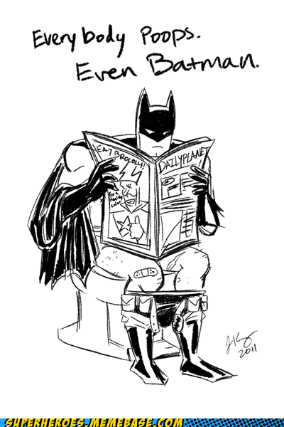 Awesome Art batman best of week costume daily planet poops - 5634527232