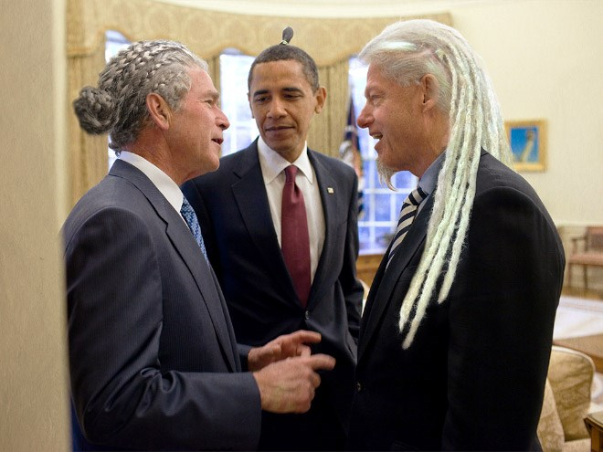 hair presidents new look funny hair world leaders funny news cheezcake funny hairstyles - 5635077