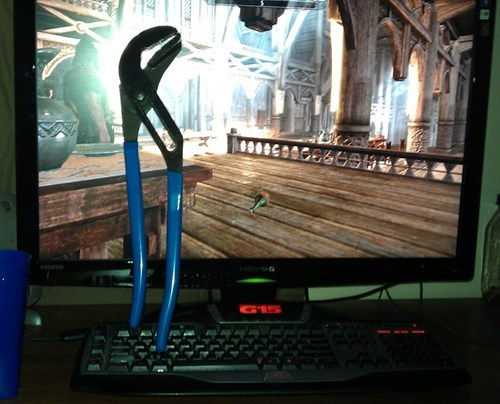 computer,dual use,Skyrim,tools,video games,wrench