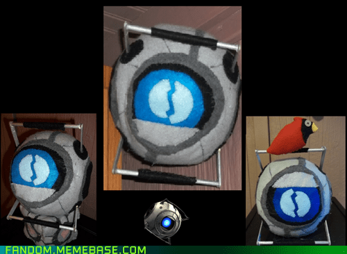 Fan Art Plush portal 2 Wheatley - 5635353856