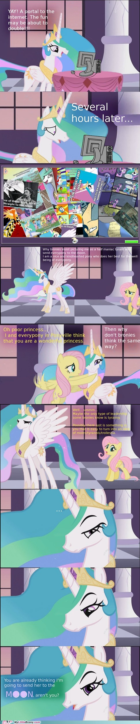 best of week Bronies celestia comic comics lols love and tolerate trollestia - 5636167680