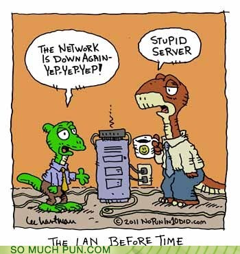 When dinosaurs ruled the IT department