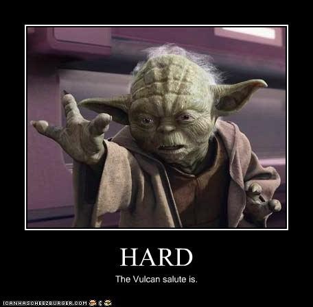 fingers hand hard star wars vulcan salute yoda - 5636873728