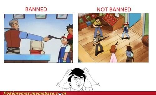 anime banned guns Pokémon seems legit tv-movies wtf - 5637104128
