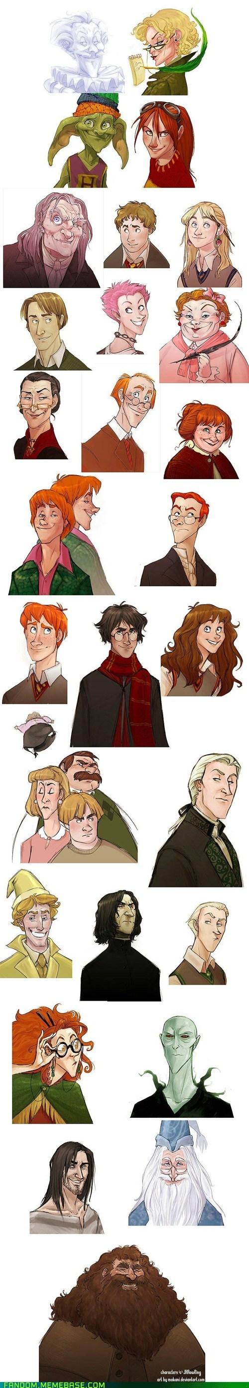 Fan Art fandom Harry Potter - 5637133312