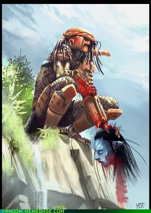 Avatar best of week Fan Art fandom movies Predator - 5637143296
