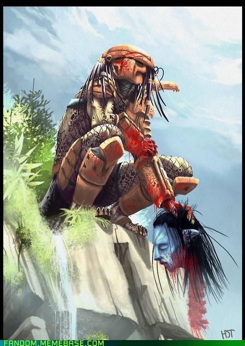 Avatar best of week Fan Art fandom movies Predator - 5637143296