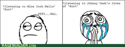 hurt johnny cash nine inch nails Rage Comics - 5637192704