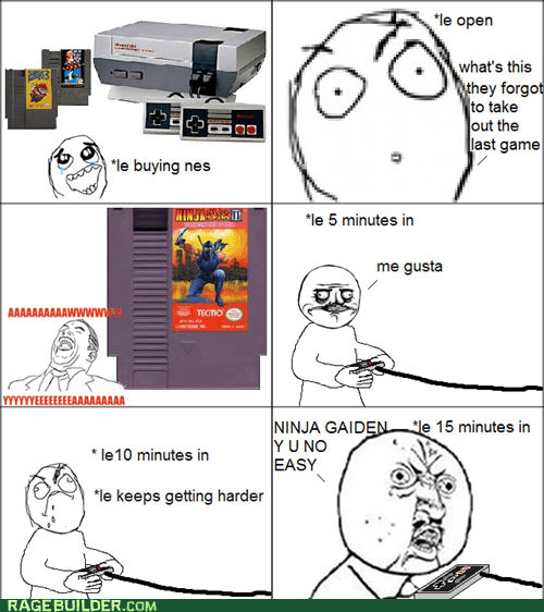 me gusta,Rage Comics,video games,Y U No Guy