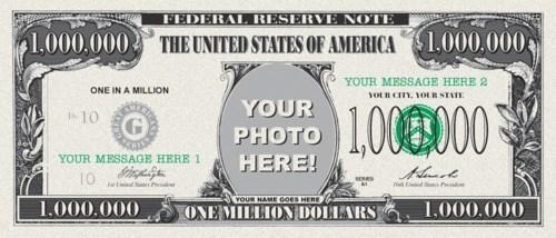 Criminally Dumb Criminal,dr-evil,One Million Dollar Bill
