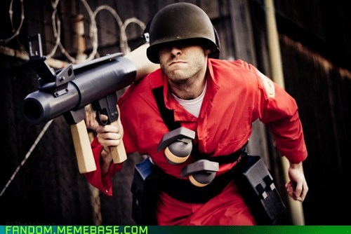 best of week cosplay soldier TF2 video game - 5637425152
